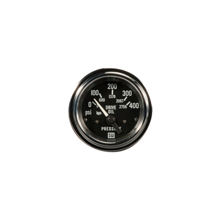 0-400psi Deluxe Transmission Oil Pressure Gauge