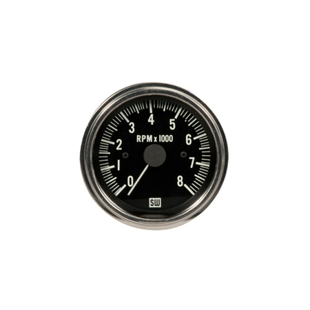 0-8,000 RPM Deluxe Series Analog Tachometer