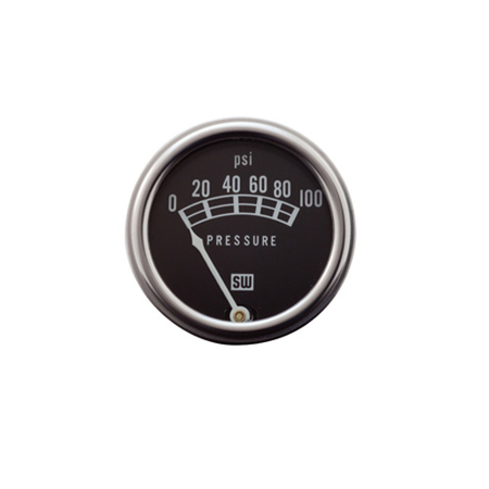 5-100psi Standard Series Oil Pressure Gauge