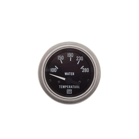 100-280°F Stewart Warner Water Temp Gauge