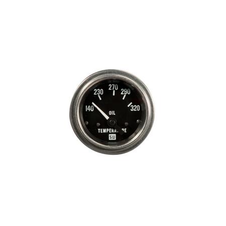 140-320°F Deluxe Series Oil Temperature Gauge