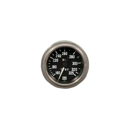 140-325°F Deluxe Series Oil Temperature Gauge