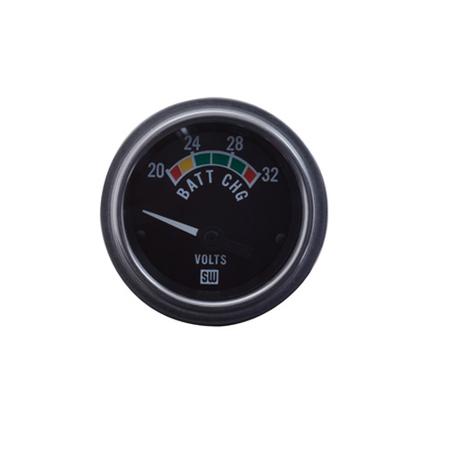 20-32 Volt Stewart Warner Deluxe Series Volt Meter