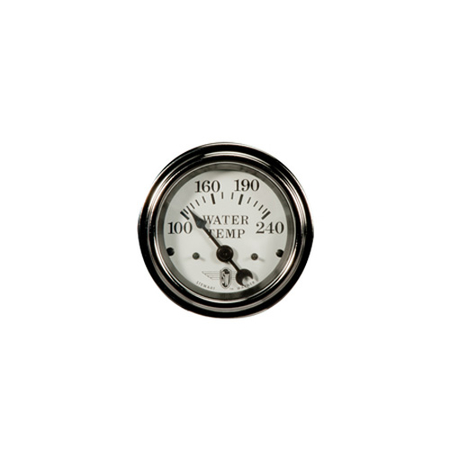 100-240°F, White Wings Series Water Temperature Gauge