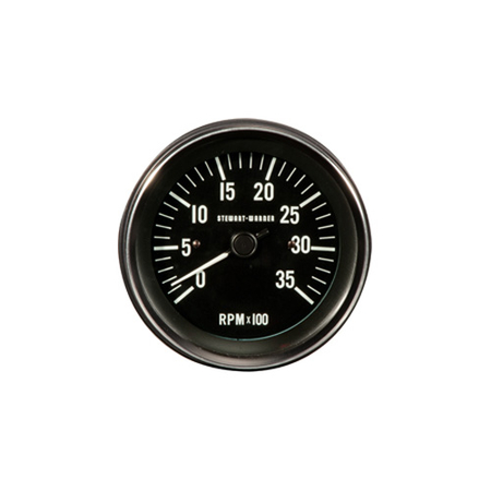 Heavy-Duty Series Analog Tachometer with Selectable Ratio