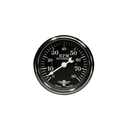 Black Wings Series Analog Tachometer