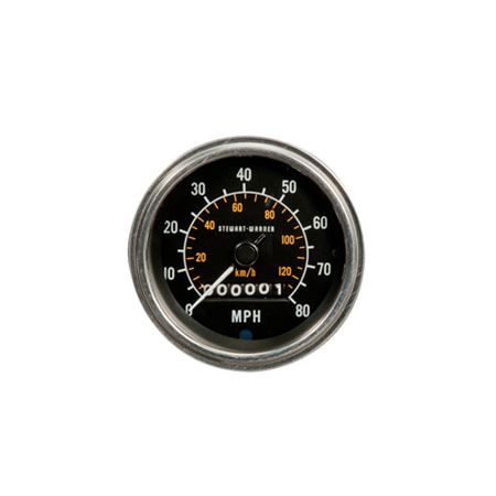 0-80 MPH Deluxe Series Speedometer