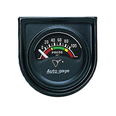 Auto Meter Auto Gage Oil Pressure Gauge