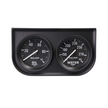 Auto Meter Auto Gage Two-Gauge Consoles