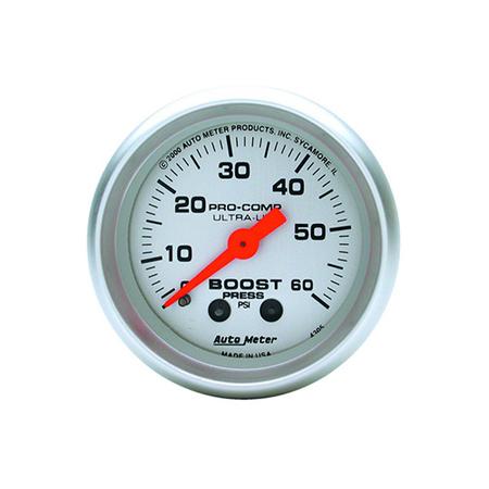 AutoMeter Ultra-Lite Boost Gauge
