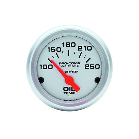 Auto Meter Ultra-Lite Oil Temp Gauge