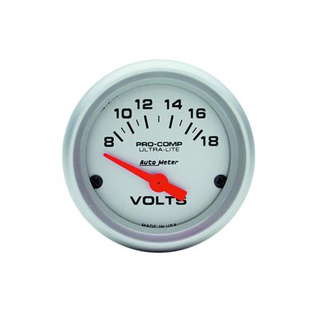 AutoMeter Ultra-Lite Voltmeter