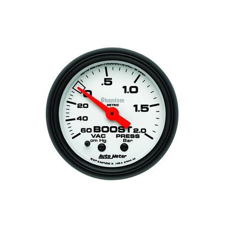 Auto Meter Phantom Boost/Vacuum Gauge