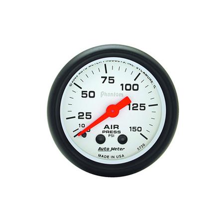Auto Meter Phantom Air Pressure Gauge