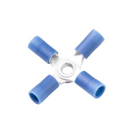 Vinyl-insulated X Butt Connector