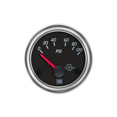 Stewart Warner Gauge Line Series Oil Pressure Gauge