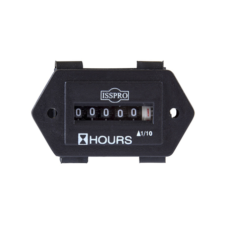 ISSPRO Rectangle Hour Meter