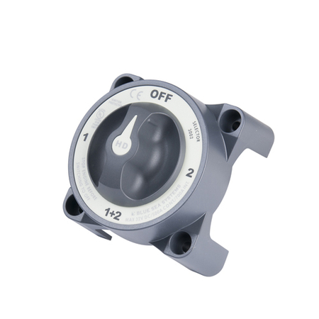 Selector 4 Position Battery Switch_HD Series