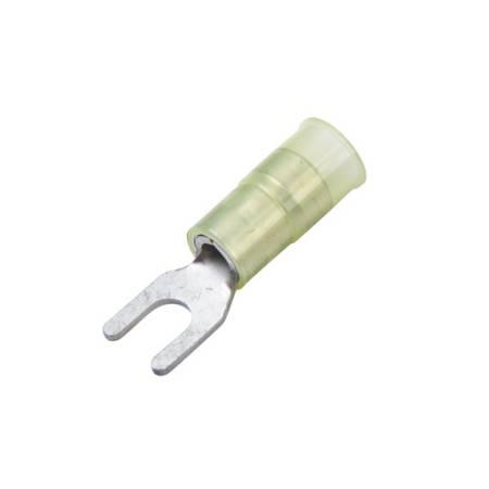 Nylon-Insulated, Brass Crimp Sleeve Spade Terminals