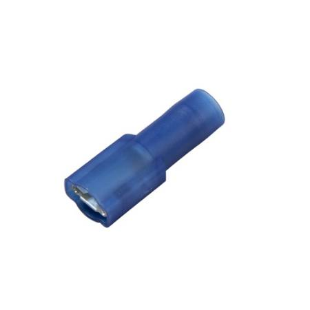 Nylon, Brass Sleeve, Fully-Insulated Push-On Terminals