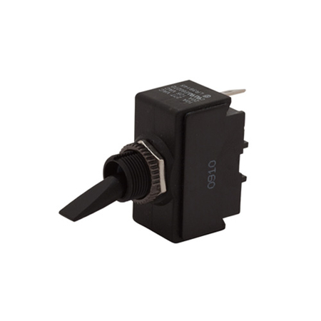 Plastic Toggle Switch - Double Insulated - SPDT