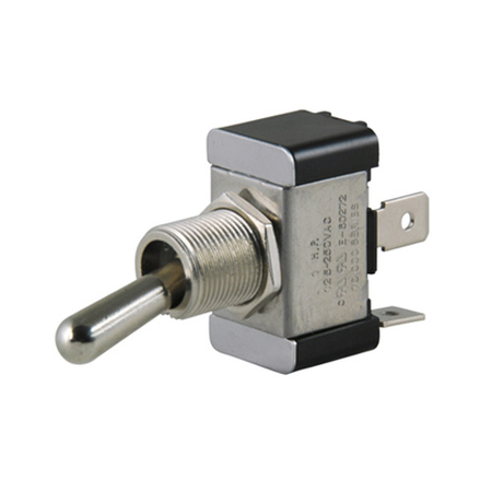 Flat Terminal Heavy-duty O-Ring Toggle Switch - SPST