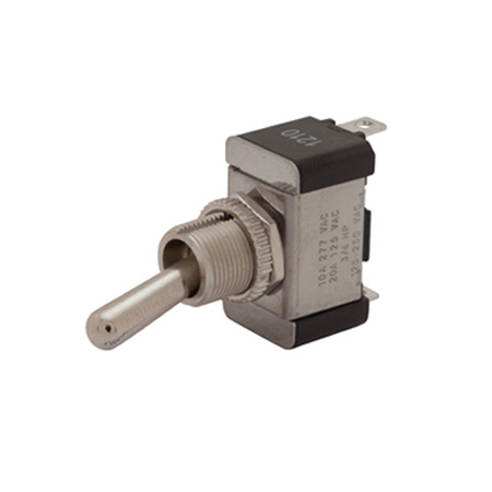 Solder Terminal Heavy-duty Toggle Switch - SPDT