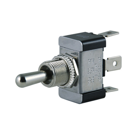 Flat Terminal Heavy-duty O-Ring Toggle Switch - SPDT
