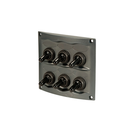 6-Way Toggle Switch Panel