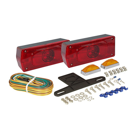 Low Profile Trailer Light Kit - ST36/37