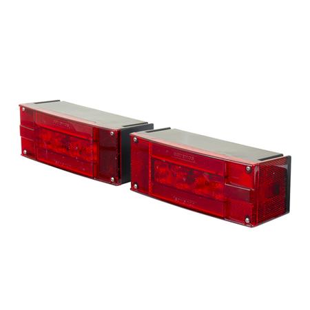 Rectangle Tail Light Kit - Glolight