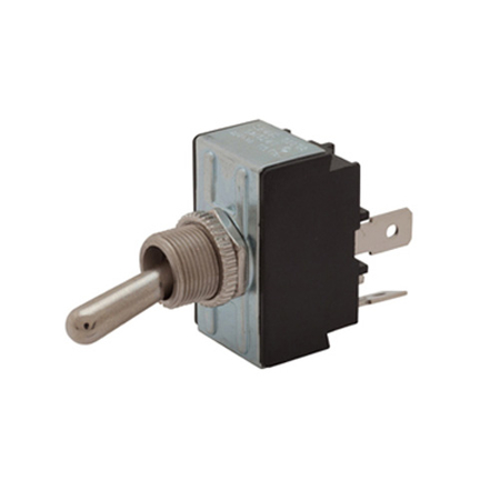 Flat Terminal Heavy-duty Toggle Switch - DPST