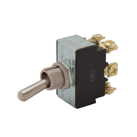 Screw Terminal Heavy-duty Toggle Switch - DPDT