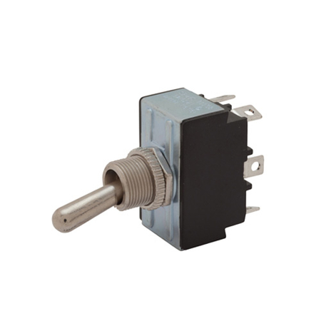 Solder Terminal Heavy-duty Toggle Switch - DPDT