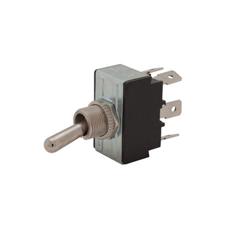 Flat Terminal Heavy-duty Toggle Switch - DPDT