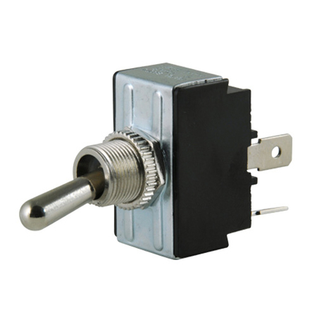 Flat Terminal Heavy-duty O-Ring Toggle Switch - DPST