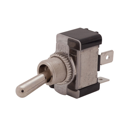Flat Terminal Heavy-Duty Toggle Switch - SPST
