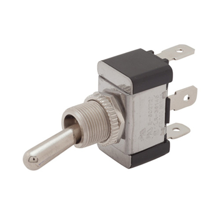 Flat Terminal Heavy-duty Toggle Switch - SPDT