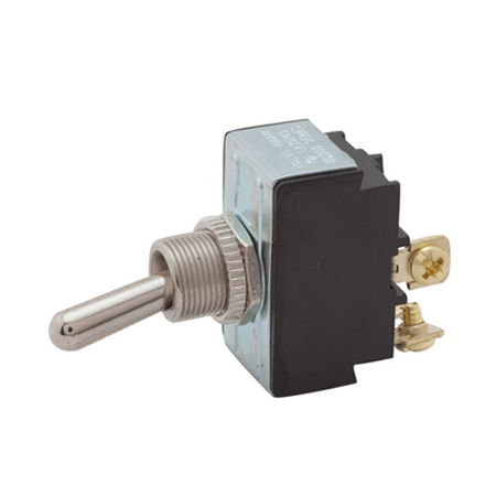 Screw Terminal Heavy-duty Toggle Switch - DPST