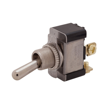 Screw Terminal Heavy-duty Toggle Switch - SPST