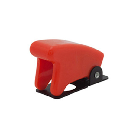 Bright Red Toggle Switch Guard