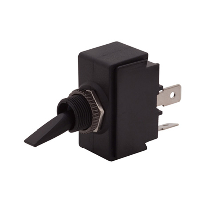 Plastic Toggle Switch - Double Insulated - SPST