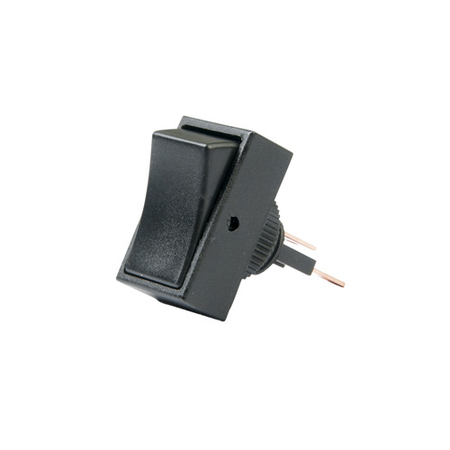 Non-illuminated Rectangular Round Hole Rocker Switch