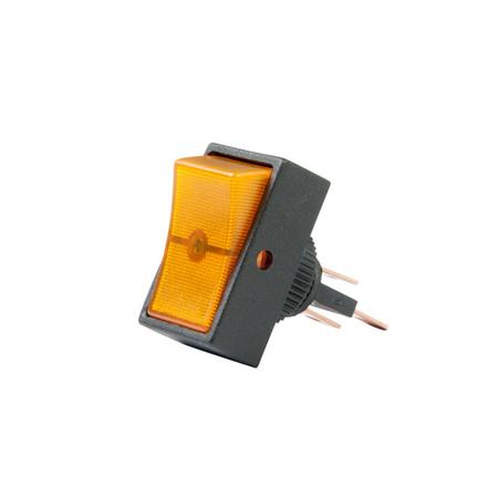 Illuminated Rectangular Round Hole Rocker Switch