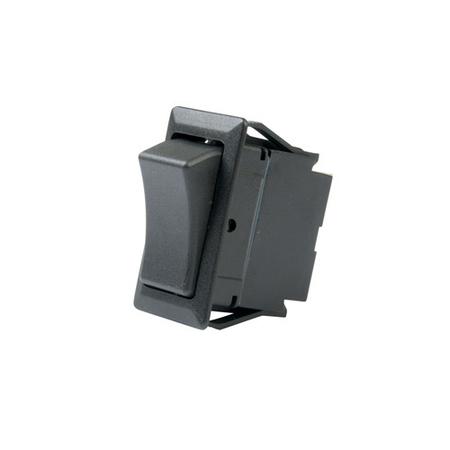 Screw Terminal Full Size Rocker Switch - DPDT