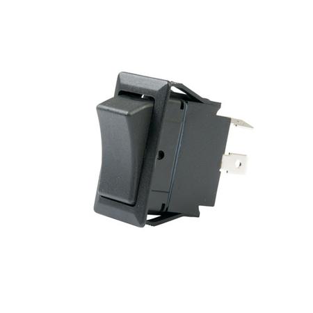 Flat Terminal Full Size Rocker Switch - DPST