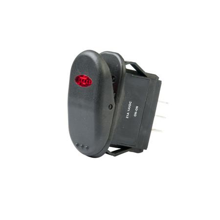 Illuminated Surf N Turf Rocker Switch - DPDT