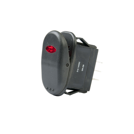 Illuminated Surf N Turf Rocker Switch - DPDT