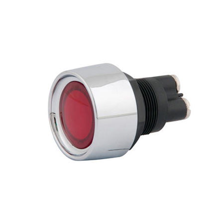 Engine Start Push Button Switch - Red