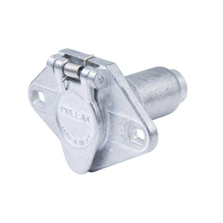 6-Way Trailer Connector with Concealed Socket